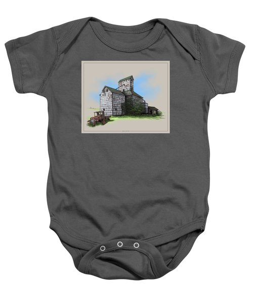 The Ross Elevator Version 5 Baby Onesie