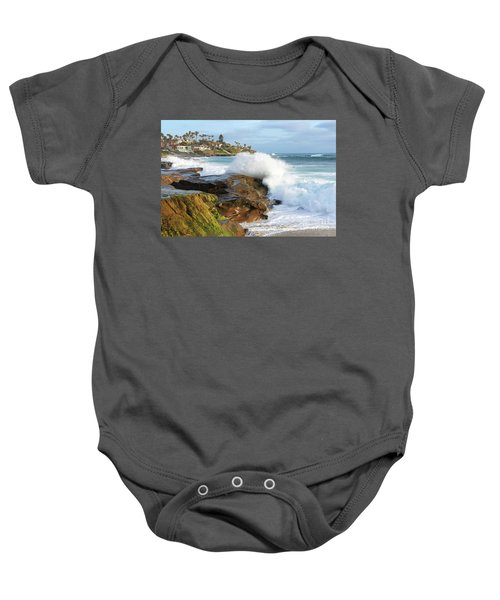 The Sea Was Angry That Day My Friends Baby Onesie