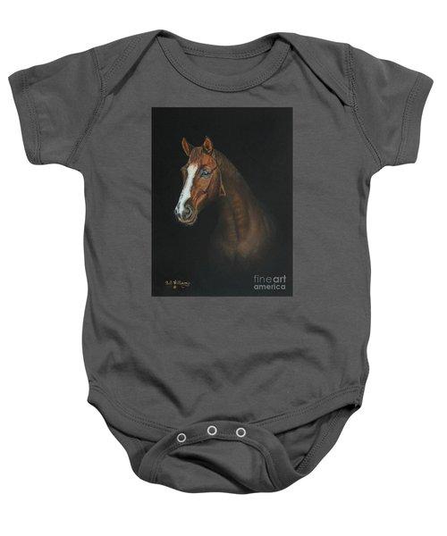 The Stallion Baby Onesie
