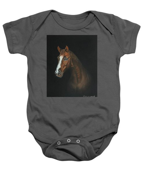 The Stallion Baby Onesie