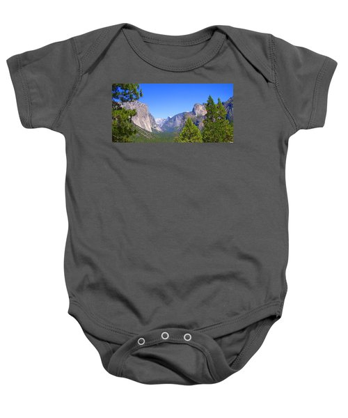 The Valley Of Inspiration-yosemite Baby Onesie