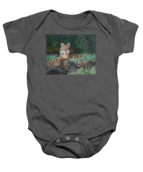 The Wild Cat  Baby Onesie