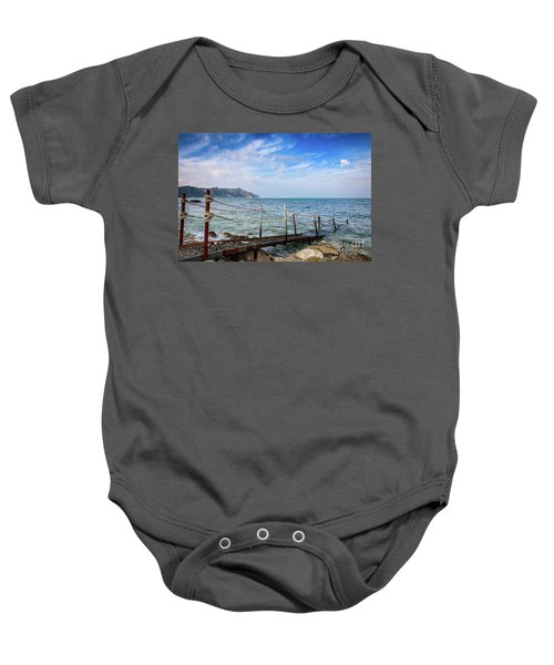 The Winter Sea #2 Baby Onesie
