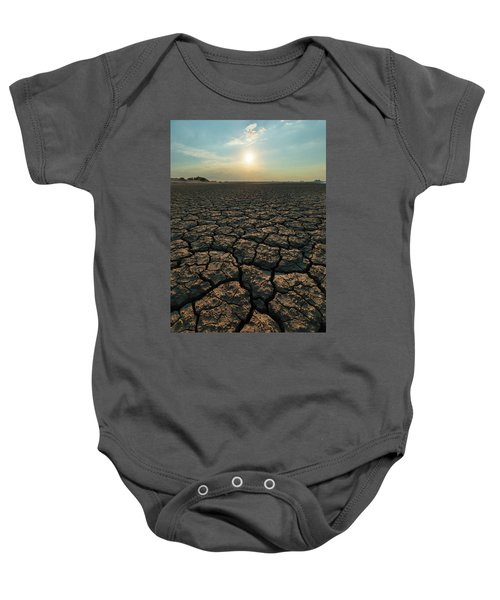 Thirsty Ground Baby Onesie