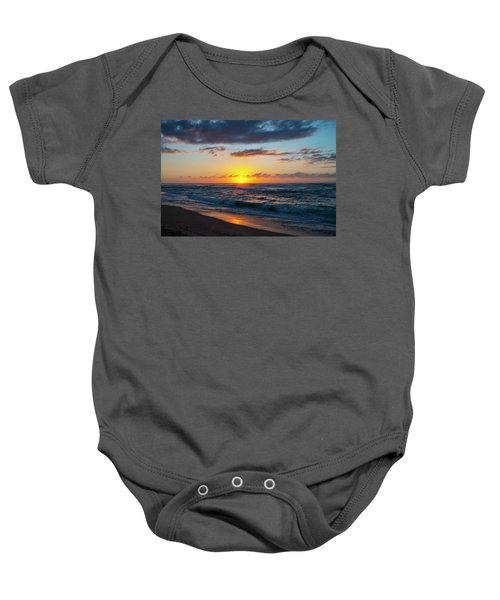 This Is Why They Call It Sunset Beach Baby Onesie