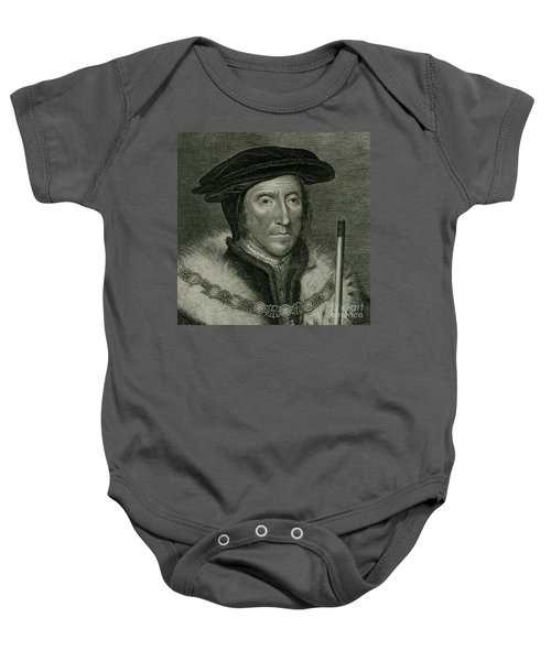 Thomas Howard 3rd Duke Of Norfolk 1600s Detail B Baby Onesie