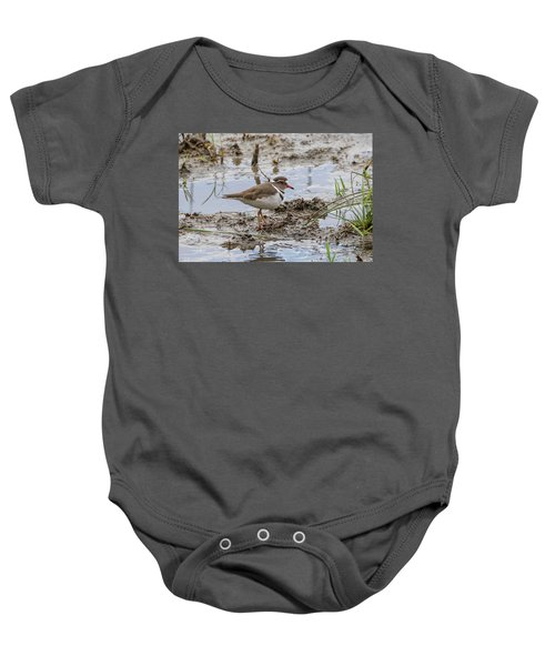Three-banded Plover Baby Onesie