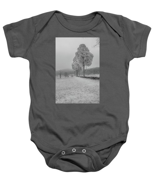 Three Sentinals Baby Onesie