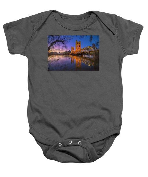 Tower Bridge At Sunrise - 4 Baby Onesie