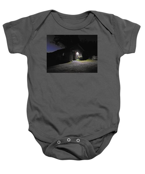 Trapp Family Lodge Cabin Sunrise Stowe Vermont Photo Baby Onesie
