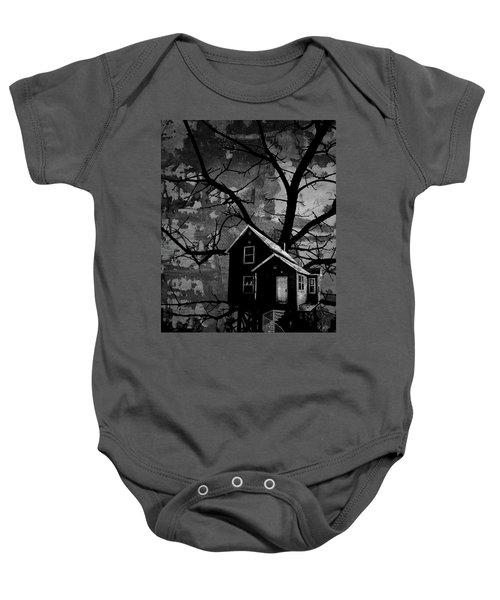 Treehouse II Baby Onesie