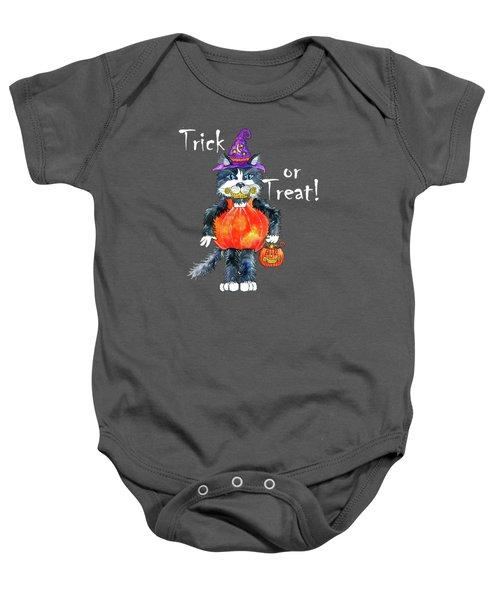 Trick Or Treat Baby Onesie