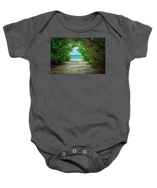 A Room With A View Baby Onesie