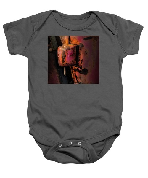 Truck Hinge With Nail Baby Onesie