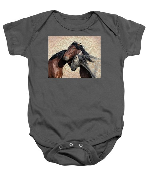 Baby Onesie featuring the photograph Trying To Fit In by Mary Hone