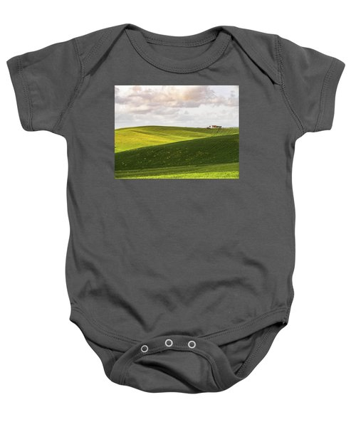 Tuscan Landscapes. Hills In The Spring Baby Onesie