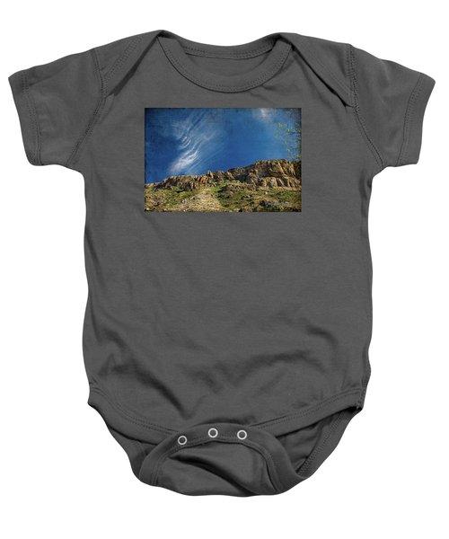 Tuscon Clouds Baby Onesie