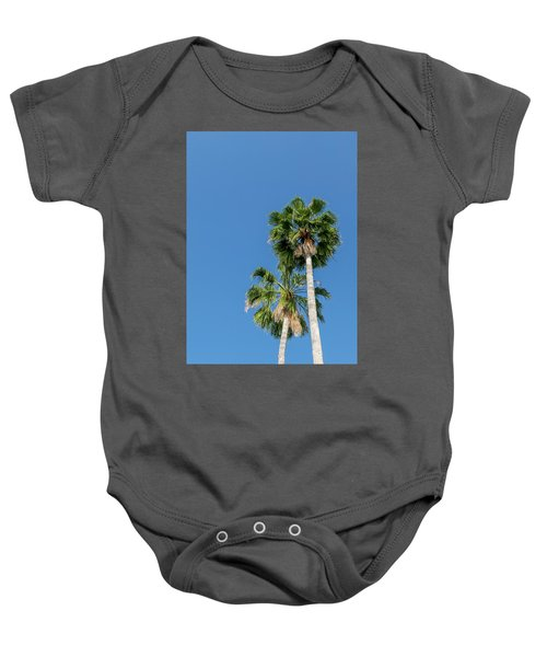Two Palms Baby Onesie