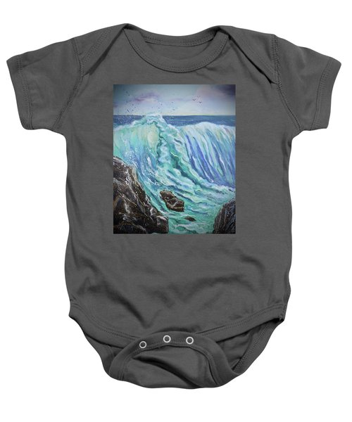 Unstoppable Force Baby Onesie