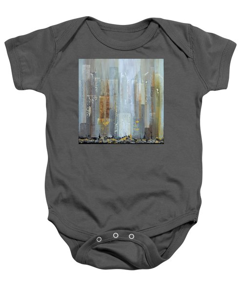 Urban Reflections I Night Version Baby Onesie