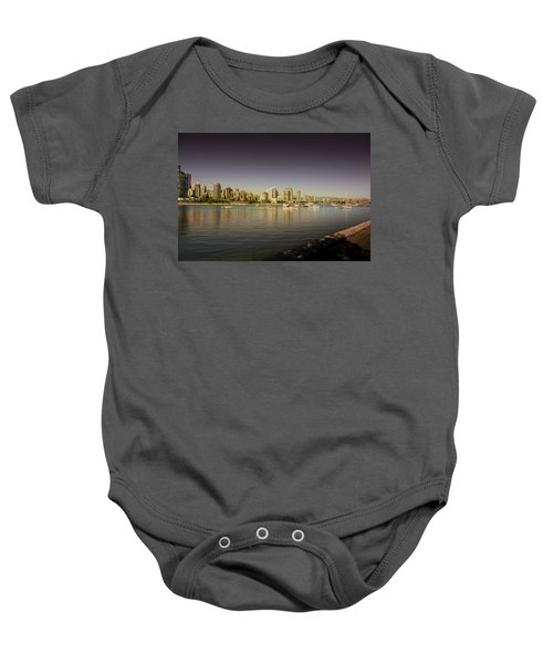 Vancouver In Magical Hours Baby Onesie