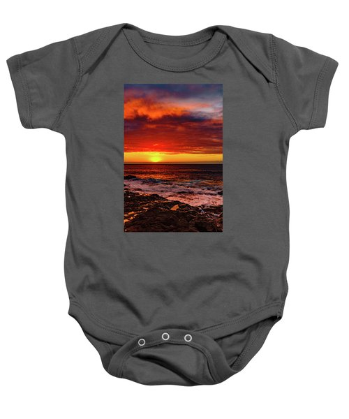 Vertical Warmth Baby Onesie