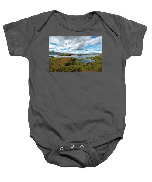 View In Glencoe, Scotland Baby Onesie