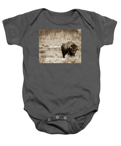 Baby Onesie featuring the photograph Wait For Us by Mary Hone