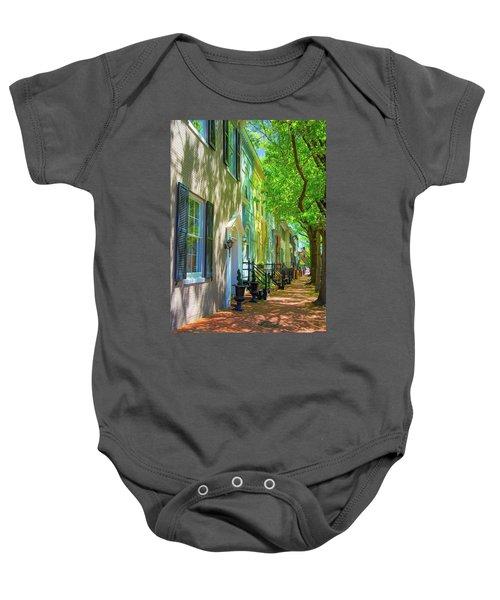 Walking On Duke Street Baby Onesie
