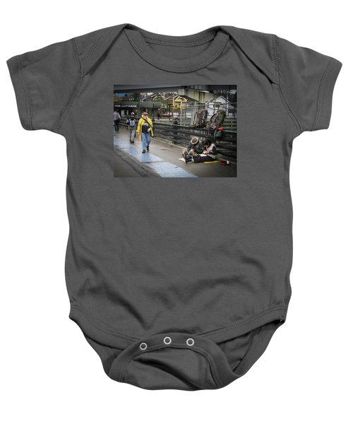 Walking-travellers Baby Onesie