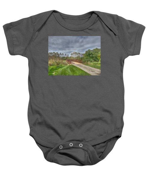 Walnut Woods Bridge - 2 Baby Onesie