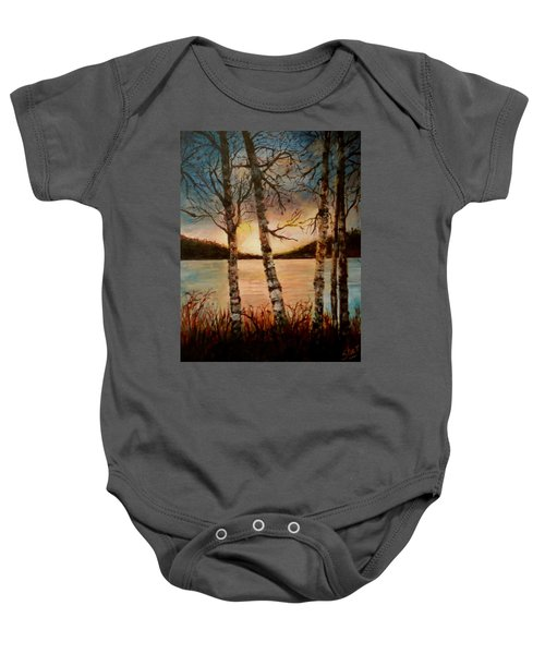Warm Fall Day Baby Onesie