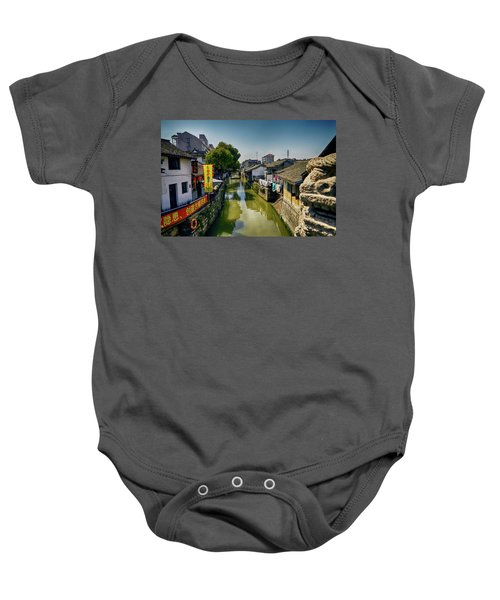 Water Village Baby Onesie