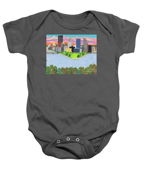 West End Overlook Baby Onesie