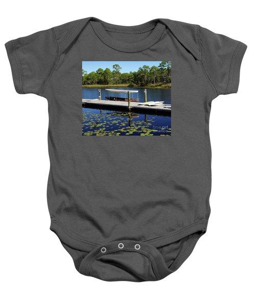 Western Lake Baby Onesie