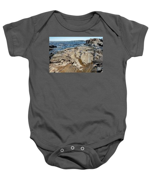 Wet Rocks Baby Onesie