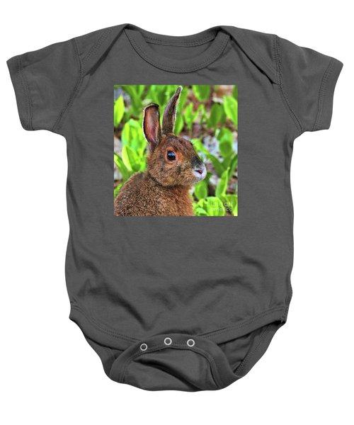 Wild Rabbit Baby Onesie