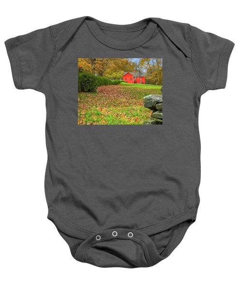 William Cullen Bryant Barn Baby Onesie