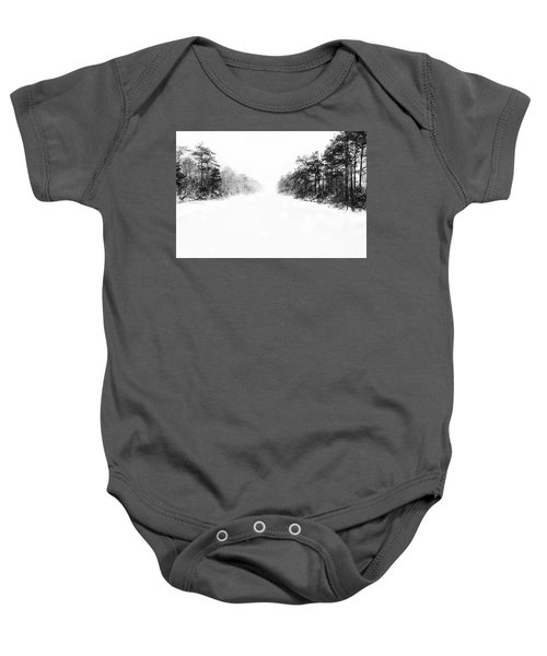 Winter Afternoon Baby Onesie