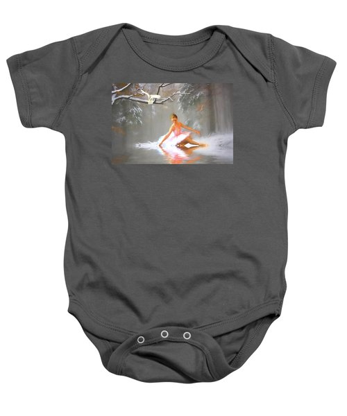 Winter Dancer Baby Onesie