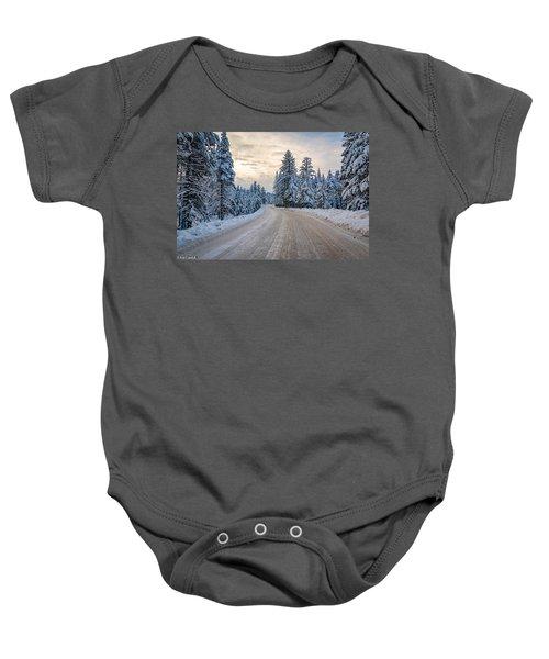 Winter Baby Onesie