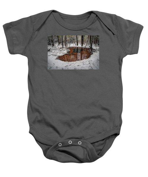 Winter Reflections Baby Onesie