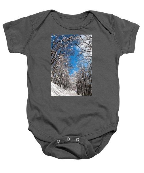 Winter Road Baby Onesie