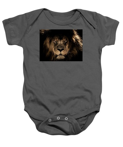 Wise Lion Baby Onesie