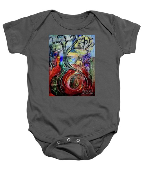 Witching Tree Baby Onesie