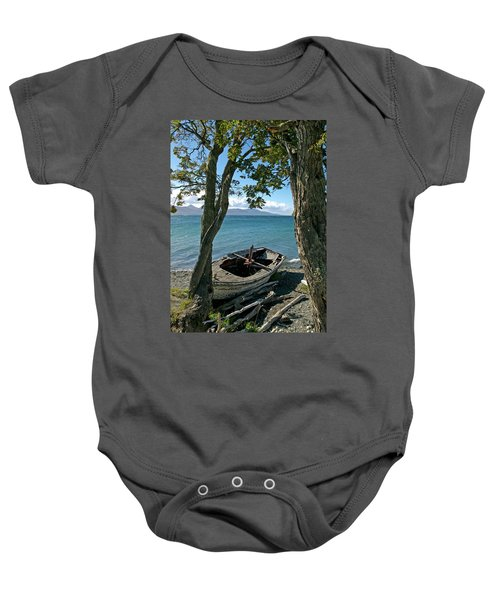 Wrecked Boat Patagonia Baby Onesie