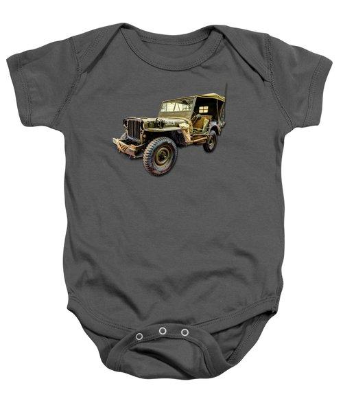 Ww2 Jeep Baby Onesie