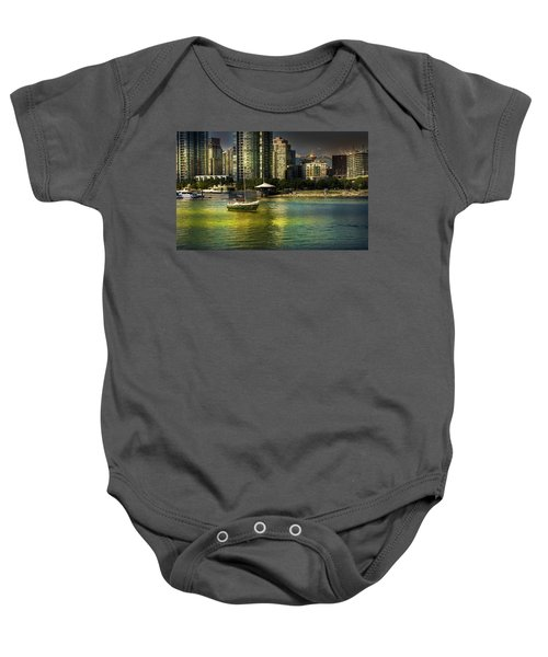 Yaletown Sunset Baby Onesie