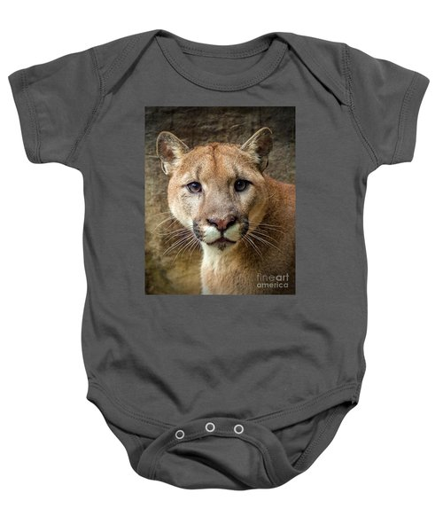 Young Puma Baby Onesie
