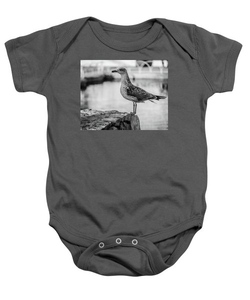 Young Seagull Baby Onesie